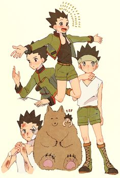 #hunter x hunter#hxh#gon#killua