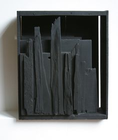 Louise Nevelson. Untitled, 1959. Painted wood.