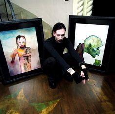 Les 10 meilleures images de MANSON 'S PAINTING | Marilyn manson, Peinture, Manson