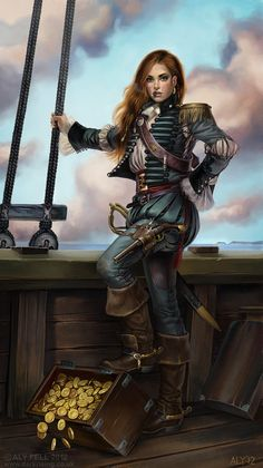 "I love Ally Fell. He created the steampunk Tarot deck I love so much :) Digital art and illustration by Alastair Fell. HIs blog is ""Port Out, Starboard Home""-http://alyfell.blogspot.com/?zx=c9abf4e379716223#"