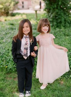 Garden Ring Bearer -- Gallery & Inspiration   Picture - 1916633 - Style Me Pretty