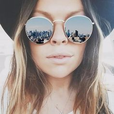 Fashionable. Essential. Flattering. Yes, that's what sunglasses are for women. Sunglasses notch up the glam quotient higher. They also protect the eyes from the harmful rays of the sun. Find a huge ra