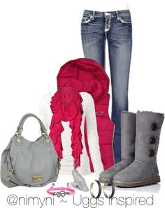 """""""@NIMYNI ~ Uggs Inspired"""" by thenimyniapp on Polyvore"""