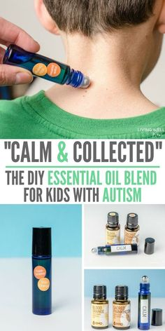 using a simple DIY essential oil blend to support my son who has high functioning autism for the past few months. I've been blown away at how quickly the oils help him calm down!