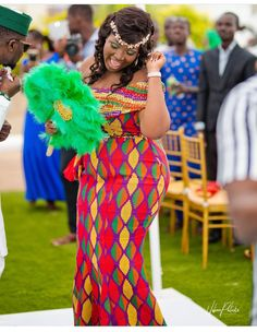 Beautiful Corporate Kente Attire For Damsels - Sisi Couture African Dresses For Kids, African Lace Dresses, Latest African Fashion Dresses, African Clothes, African Wedding Attire, African Attire, African Wear, African Lace Styles, African Style