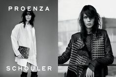 Meghan Collison Fronts Proenza Schoulers Fall 2012 Campaign by Alasdair McLellan