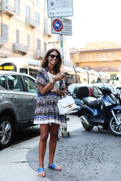 Monday's inspiration: Viviana, in a pretty sundress
