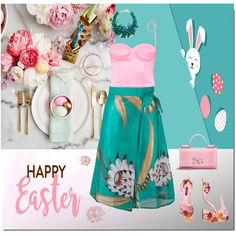 Turquoise Fashion, Creative Home, Happy Easter, Art Decor, Children, Rose, Design, Style, Happy Easter Day