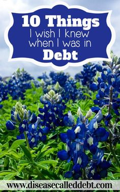 10 Things I Wish I Knew When I Was in Debt - I've described 10 things I wish I'd known during the height of our debt. If you're currently struggling with debt, I hope this post is of some help to you! pay off debt, debt free, Financial Peace, Financial Tips, Financial Planning, Ways To Save Money, Money Saving Tips, Money Tips, I Wish I Knew, Thing 1, Get Out Of Debt