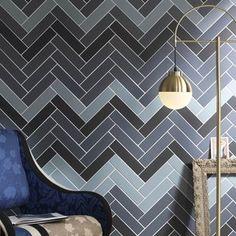 Tonalite Ceramica, rivenditore a Roma Floor Design, Wall Design, Brick Effect Tiles, Background Tile, Interior Architecture, Interior Design, Color Tile, Bold Prints, Porcelain Tile