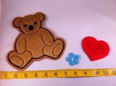 Kaylee's bear patch ONLY by NalaSerenity on Etsy, $5.00