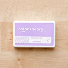 Picture of Color Theory Ink Pad: Lavender Soda