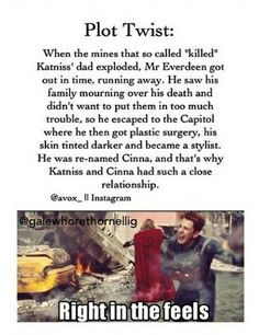 Right in the feels :'( - the hunger games