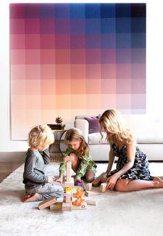 pixels passen mooi bij 'digitaliserende' beleving