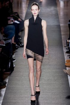 Anthony Vaccarello Fall 2013 RTW Collection - Fashion on TheCut