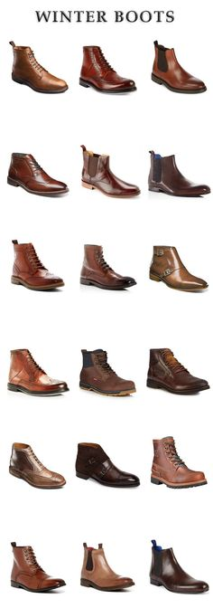 18 Winter Boots For Guys Who Love To Wear Stylish Recently I started loving this kind of shoes for men ! Men's Shoes, Shoe Boots, Dress Shoes, Celebridades Fashion, Casual Shoes, Men Casual, Style Masculin, Mens Boots Fashion, Dress With Boots