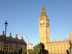 London. Most beautiful, marvellous city! Big Ben, Westminister, London Eye