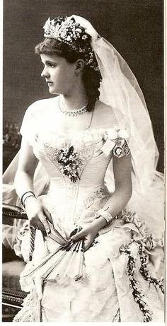 April 27, 1882: Leopold, Duke of Albany married Princess Helen of Waldeck-Pyrmont at St. George's Chapel, Windsor Castle in Windsor, England