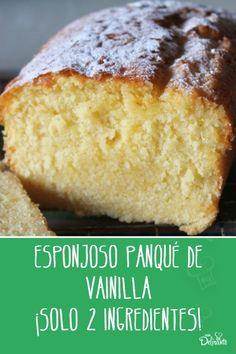 Cake Recipes, Dessert Recipes, Pan Dulce, Flan, Cornbread, Banana Bread, Cupcake Cakes, Deserts, Food And Drink
