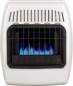 Dyna-Glo 10,000 BTU Natural Gas Blue Flame Vent Free Wall Heater, White Portable Tent, Portable Heater, Natural Gas Garage Heater, Tent Heater, Best Space Heater, Outdoor Heaters, Blue Flames, Central Heating, Heating Systems