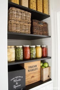 Tips & Tricks for an Organized Pantry   Not JUST A Housewife