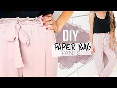 New ideas for diy bag paper Diy Wedding Dress Bustle, Diy Bag Man, Sewing Clothes, Diy Clothes, Shorts Diy, Clothing Patterns, Dress Patterns, Diy Paper Bag, Shorts Tutorial