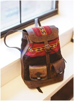 Backpack made in Northern Chile