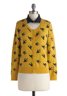 Sightseeing is Believing Cardigan, #ModCloth