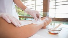 DON'T BE LAX ABOUT THE WAX If waxing is your preferred method of hair removal, avoid using products made from petroleum-based paraffin wax. We use Nufree. It's a natural, self-preserving antibacterial/antimicrobial, anhydrous botanical formula. It contains no wax, no sugar and no honey.