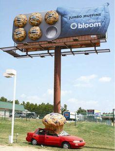 Billboard in Charlotte, NC - memorable.