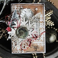 Studio Family Values by Anita Nosova: Vintage christmas cards/ Винтажные новогодний откр...
