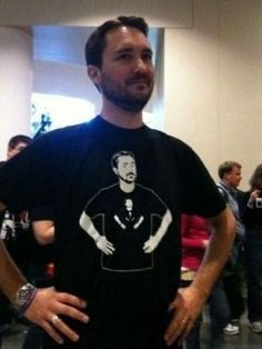 Wil Wheaton  Fact: I was majorly in love with him when I was a little girl.