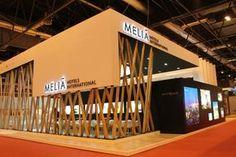Melia Hotels & Resorts at Exhibition Stall, Exhibition Booth Design, Exhibition Display, Exibition Design, Expo Stand, Stage Design, Design Museum, Retail Design, Pavilion