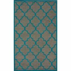 @Overstock - Inspired from Moroccan patterns, this handmade trellis wool area rug uses subtle and modern colors to match today's interiors. The plush wool pile offers great comfort under foot.http://www.overstock.com/Home-Garden/Handmade-Luna-Moroccan-Trellis-Grey-Wool-Rug-5-x-8/6827830/product.html?CID=214117 $166.59