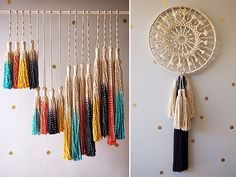 HOW TO: MACRAME DREAMER - a pair & a spare