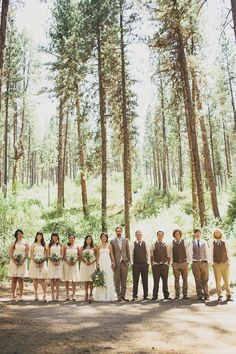 woodsy wedding- people for the love of photography do this!!!