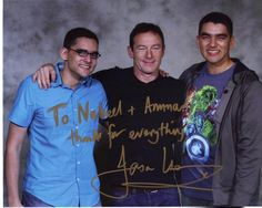 Got to meet @jasonsfolly this weekend at #Comicpalooza! He's a very genuine and nice gentleman to say the least! pic.twitter.com/eH9MArJ96q