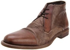 Cole Haan Men's Vincenti CPTE Lace-Up Boot in Chestnut