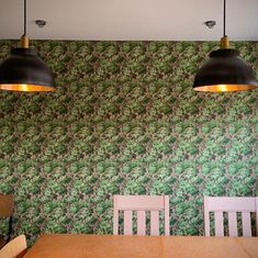 Customer Rooms and Inspiration Woodchip and Magnolia – Woodchip & Magnolia Green Home Decor, Green Wallpaper, Magnolia, Wall Lights, Rooms, Inspiration, Design, Bedrooms, Biblical Inspiration