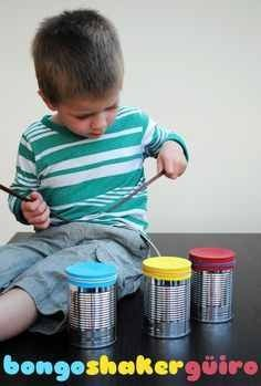 Cute drum activity for preschool instrument theme