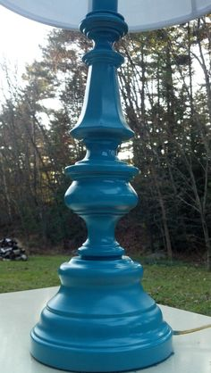 Turquoise Lamp Reveal!