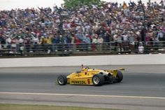 Rick Mears - March 84C Cosworth - Penske Racing - Indianapolis 500-Mile Race - 1984 PPG Indy Car World Series, round 3