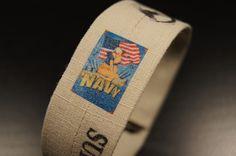 ************The 2014 Navy Pin Up Bracelet