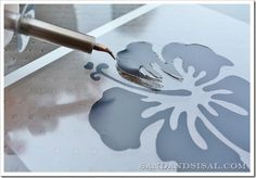 Stencils {How to Make Stencils} - Sand and Sisal