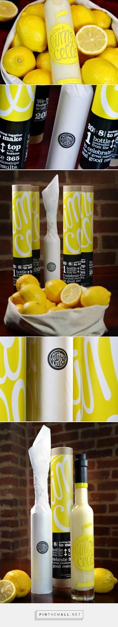 Crema di Limoncello Self-Promotional Gift — The Dieline - Branding & Packaging - created via http://pinthemall.net