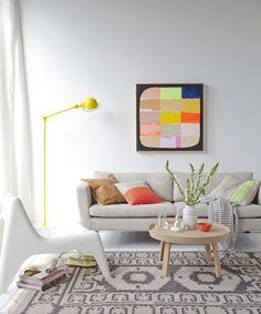 #excll #дизайнинтерьера #решения Интерьеры со столь яркими и насыщенными цветами надо продумывать и реализовывать умеренно, перебор приведет к тому, что в комнате невозможно будет находиться.