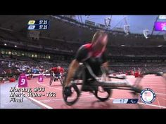 Raymond Martin wins gold in the men's 400m (T52) - London 2012 Paralympic Games - YouTube