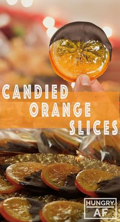 Orange Slices These Candied Orange Slices couldn't be easier. Bag them up, they make the sweetest gifts!These Candied Orange Slices couldn't be easier. Bag them up, they make the sweetest gifts! Orange Recipes, Fruit Recipes, Sweet Recipes, Dessert Recipes, Cooking Recipes, Hard Candy Recipes, Cooking Tips, Candied Orange Slices, Candied Fruit