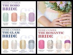 #weddingwednesday Are you getting married? Make sure your bridesmaids are perfectly coordinated for your big day! www.mandysjam.jamberrynails.net