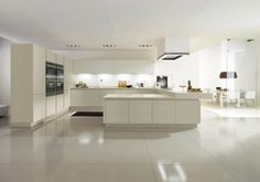 With the thin grooved profile, on both tall and base unit doors, the ...